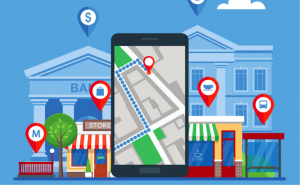 Google local business listing links