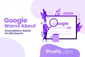 Google Warns About Assumptions Based on Site Search